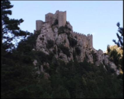 Puilaurens - Cathar castle